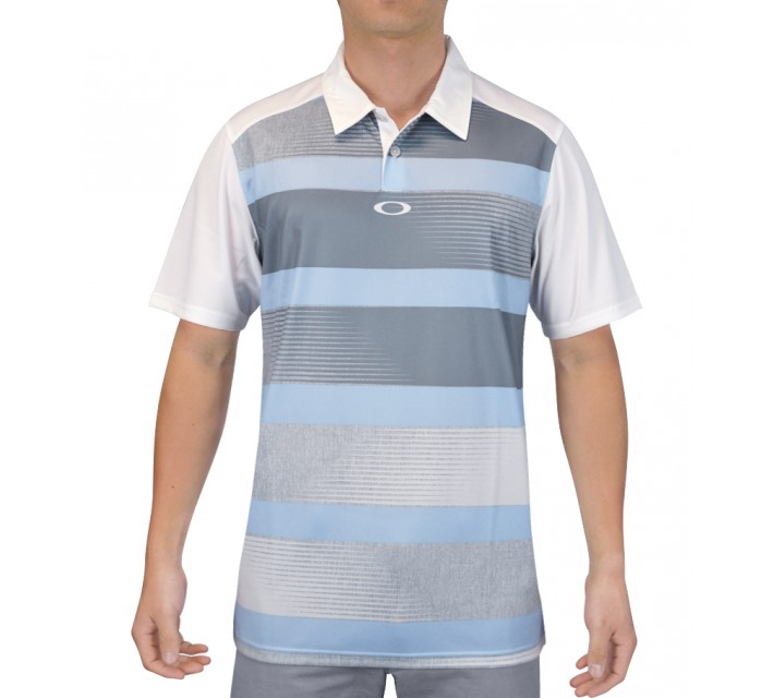 OAKLEY DEREK GOLF POLO MIST BLUE - SS15
