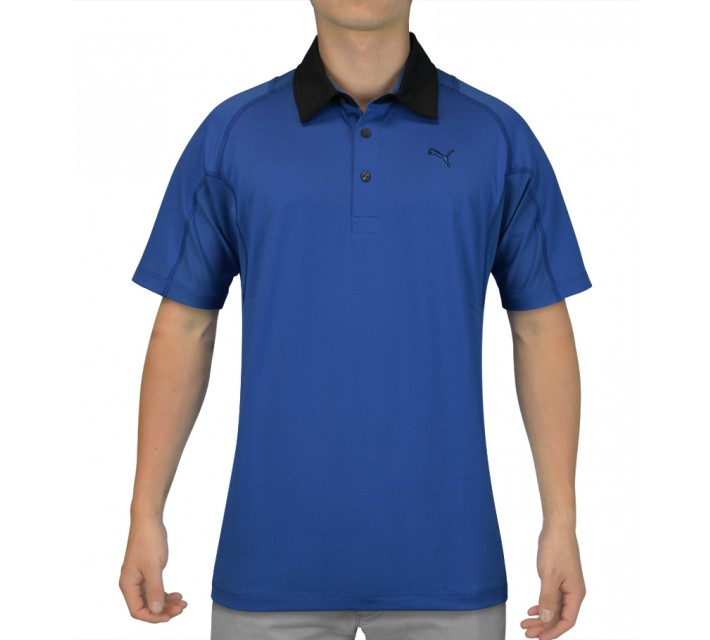 PUMA TITAN TOUR POLO STRONG BLUE - SS15
