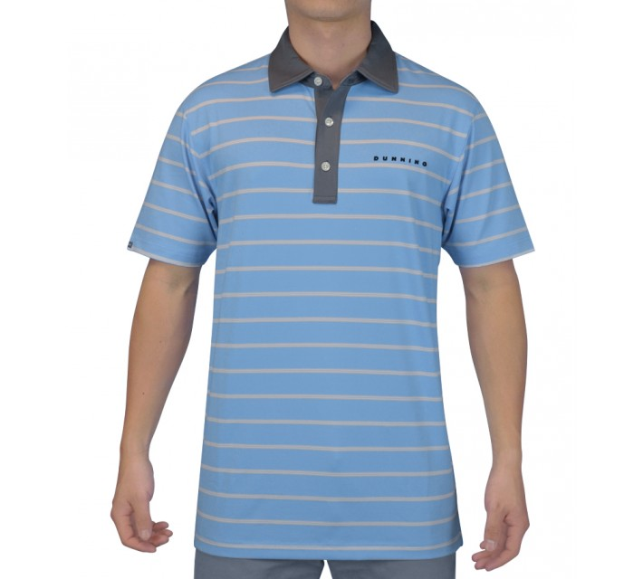 DUNNING STRIPE YD JERSEY POLO SEQUENCE COMBO - SS15