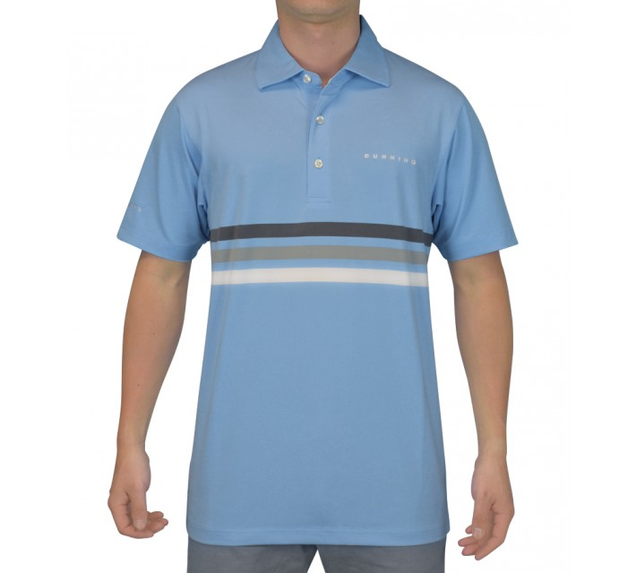 DUNNING TRIPLE CHEST STRIPE YD JERSEY POLO SEQUENCE COMBO - SS15