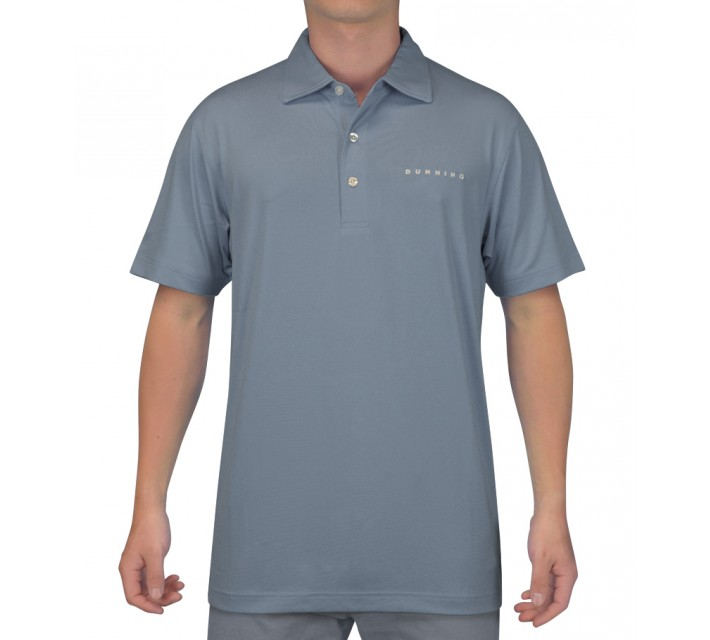 DUNNING INTERFACE STRETCH POLO DUSK - SS15
