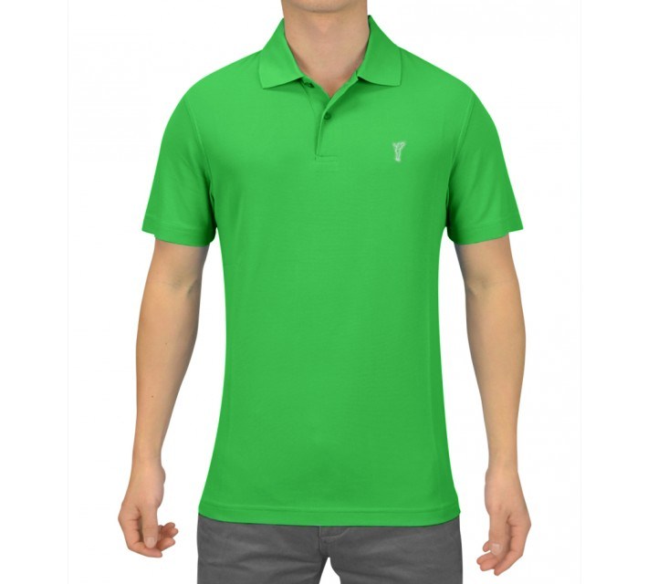 GOLFINO HIGH TECH GOLF POLO SPRING GREEN - SS15