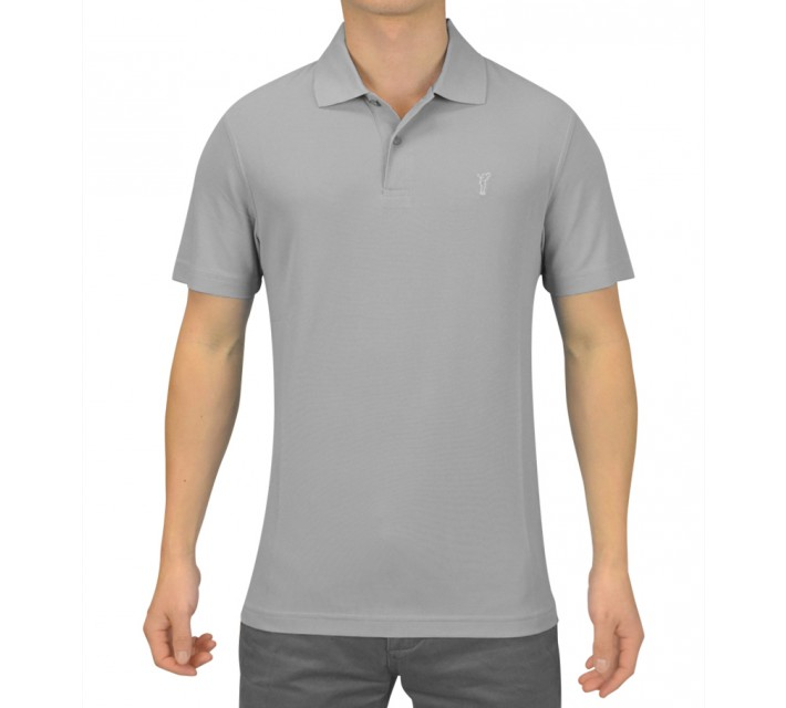 GOLFINO HIGH TECH GOLF POLO LIGHT GREY - AW15