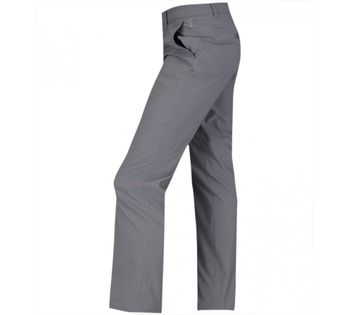 GOLFINO CLASSIC TECHNO STRETCH TROUSERS LIGHT GREY MARL - SS15
