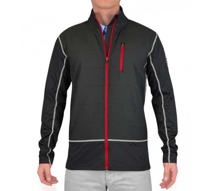 ABACUS TABERG FULL ZIP LIMITED EDITION JACKET BLACK - SS15