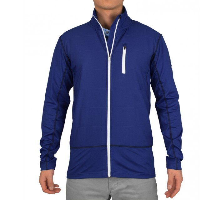 ABACUS TABERG FULL ZIP LIMITED EDITION JACKET COBALT - SS15