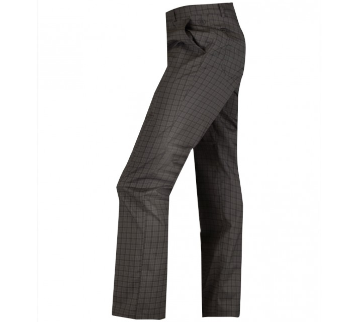 ABACUS CLEEK GOLF TROUSERS GREY CHECK - AW15