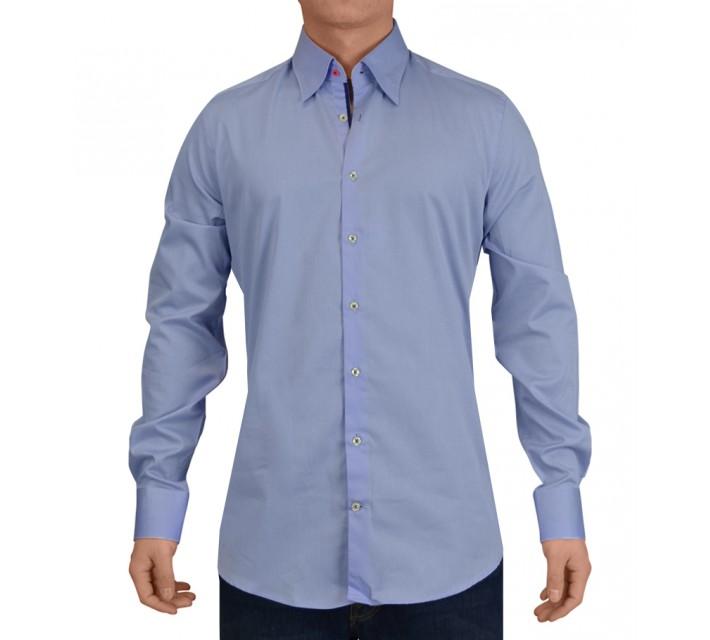 G-MAC DUNBAR WOVEN SHIRT BLUE - SS15