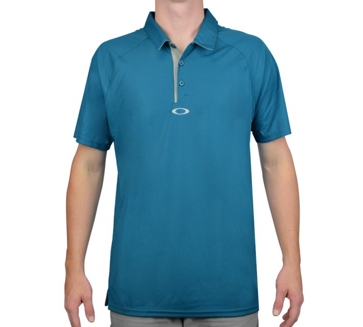 OAKLEY ELEMENTAL 2.0 GOLF POLO AURORA BLUE- AW15