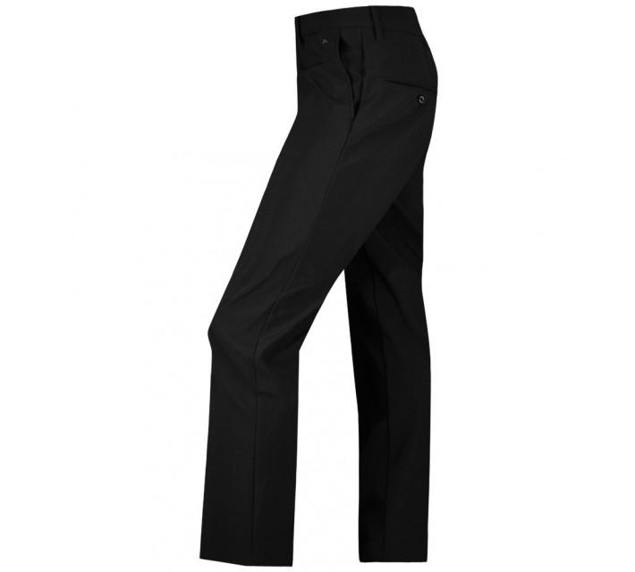 J. LINDEBERG ELLOTT BONDED MICRO STRETCH PANTS BLACK - AW15