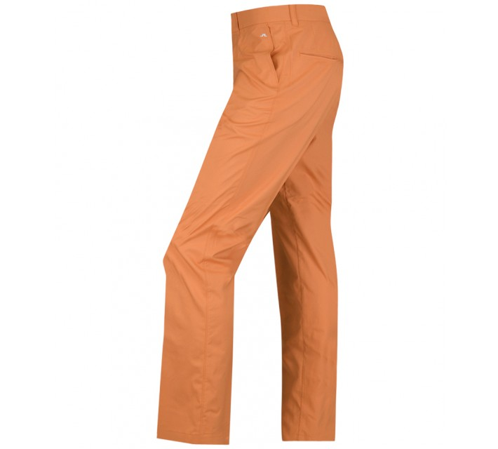 J. LINDEBERG ELOF SLIM LIGHT POLY PANTS ORANGE/RED - AW15