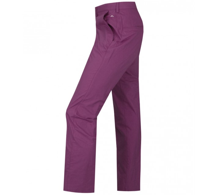 J. LINDEBERG ELOF LIGHT POLY PANTS PLUM - SS15