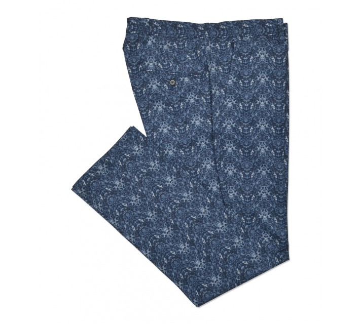 J. LINDEBERG ELOTT MICRO STRETCH PANTS NAVY CELL - SS16