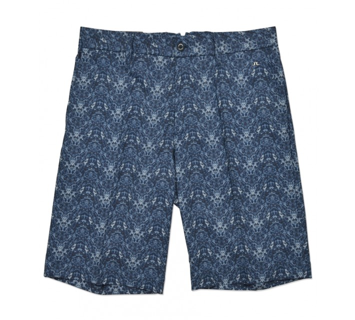 J. LINDEBERG ELOY MICRO STRETCH SHORT NAVY CELL - SS16