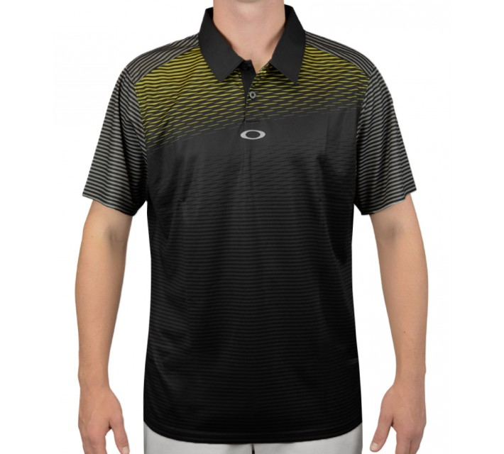 OAKLEY EMERSON GOLF POLO GRAPHITE - AW15