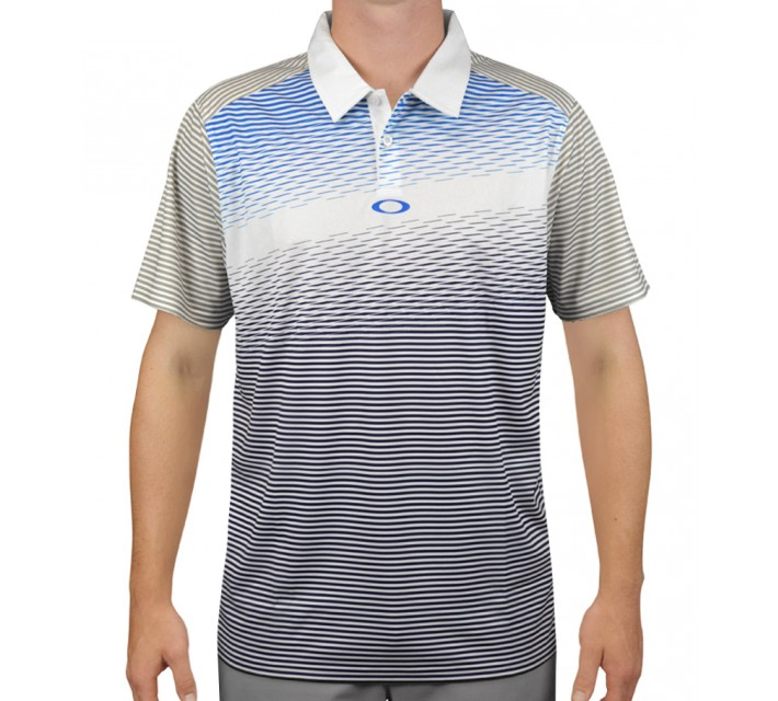 OAKLEY EMERSON GOLF POLO WHITE - AW15
