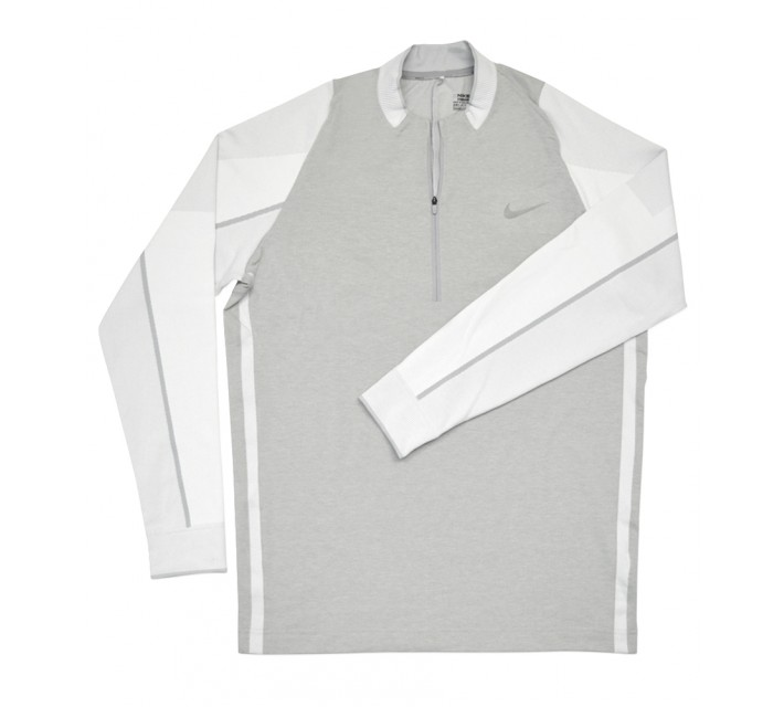NIKE ENGINEERED 1/2-ZIP TOP PULLOVER WHITE - SS16 CLOSEOUT