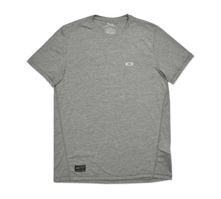 OAKLEY EXPOSURE CREW TEE ATHLETIC HEATHER GREY - SS16
