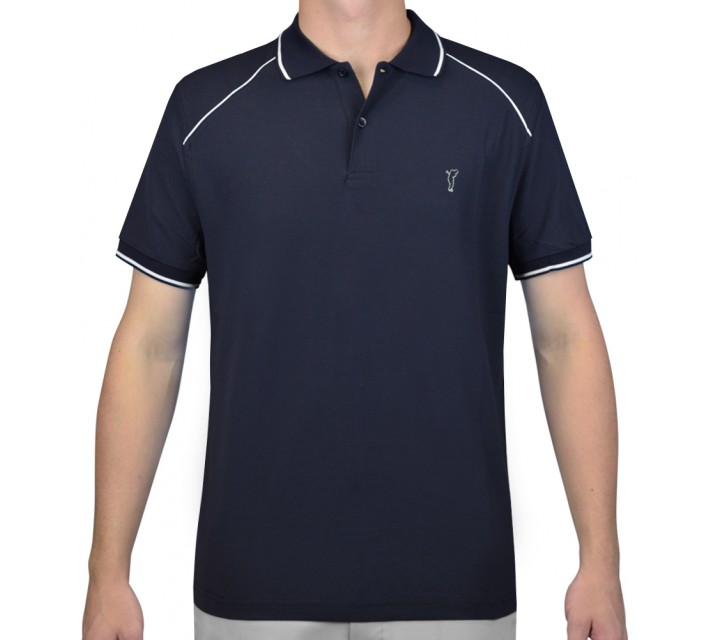 GOLFINO EXTRA DRY/BREATHABLE PIQUE POLO NAVY - AW15