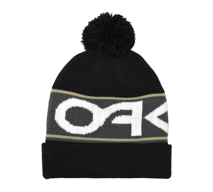 OAKLEY FACTORY CUFF BEANIE JET BLACK - AW15