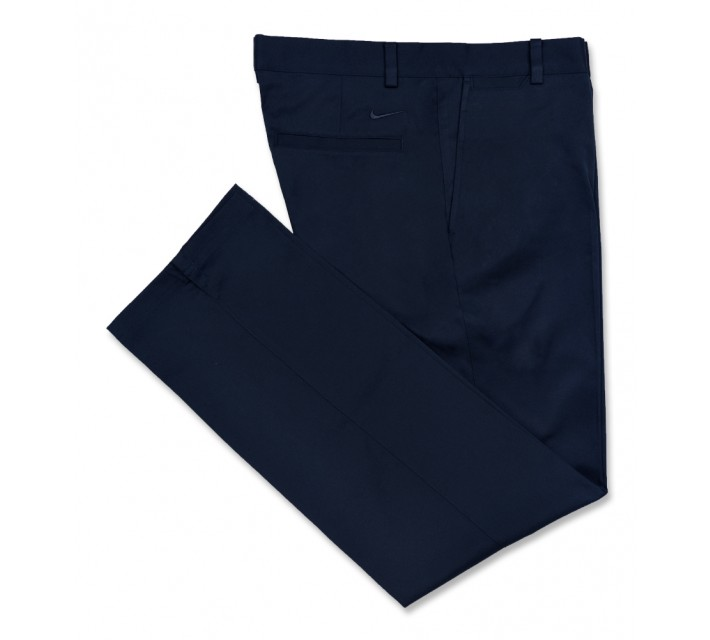 NIKE GOLF FLAT FRONT PANT MIDNIGHT NAVY - AW16 CLOSEOUT
