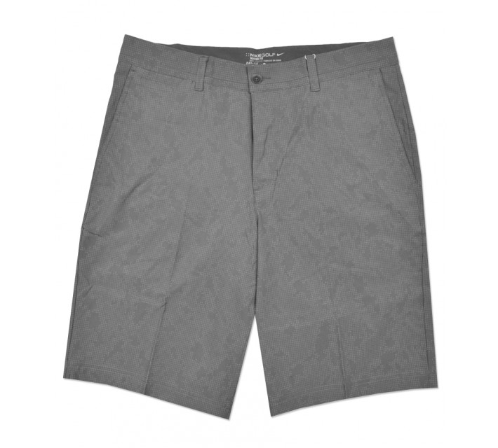 NIKE PRINT SHORT DARK GREY - SS16 CLOSEOUT