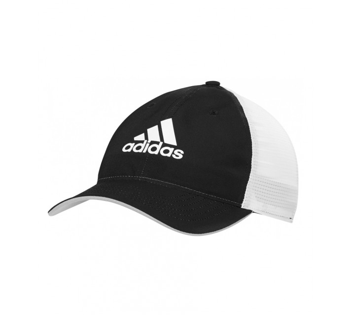 ADIDAS LIGHT WEIGHT CLIMACOOL FLEXFIT HAT BLACK/WHITE - AW16