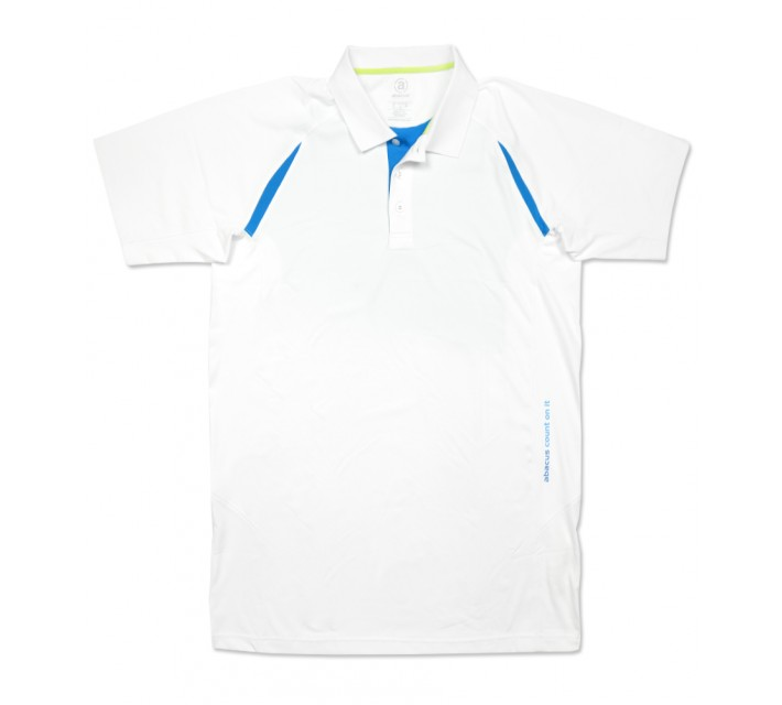 ABACUS FLUME POLO WHITE - SS16