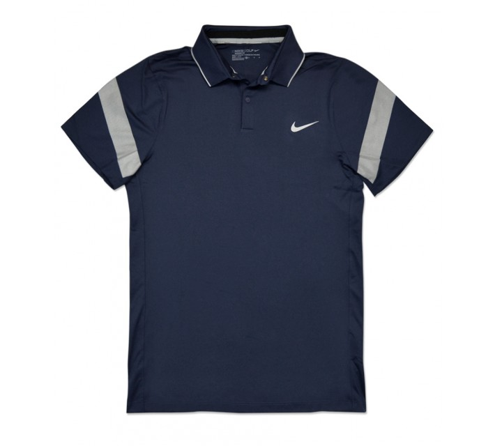 NIKE MAJOR MOMENT FLY FRAMING COMMANDER POLO MIDNIGHT NAVY - SS16 CLOSEOUT