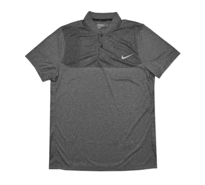 NIKE MAJOR MOMENT FLY SWING KNIT BLOCK BLADE POLO BLACK - SS16 CLOSEOUT
