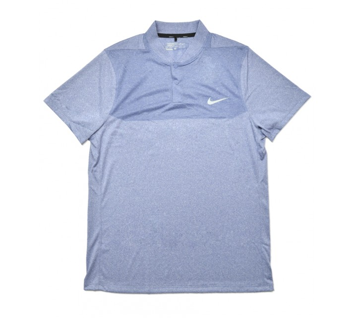 NIKE MAJOR MOMENT FLY BLADE BLOCK POLO OCEAN FOG - SS16 CLOSEOUT