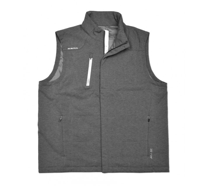 ZERO RESTRICTION THE FORBES VEST GRAPHITE MELANGE - SS16