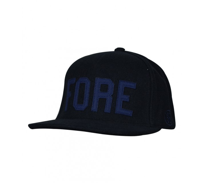 G/FORE FORE HEAD 5 PANEL FLAT BRIM HAT PATRIOT - AW16