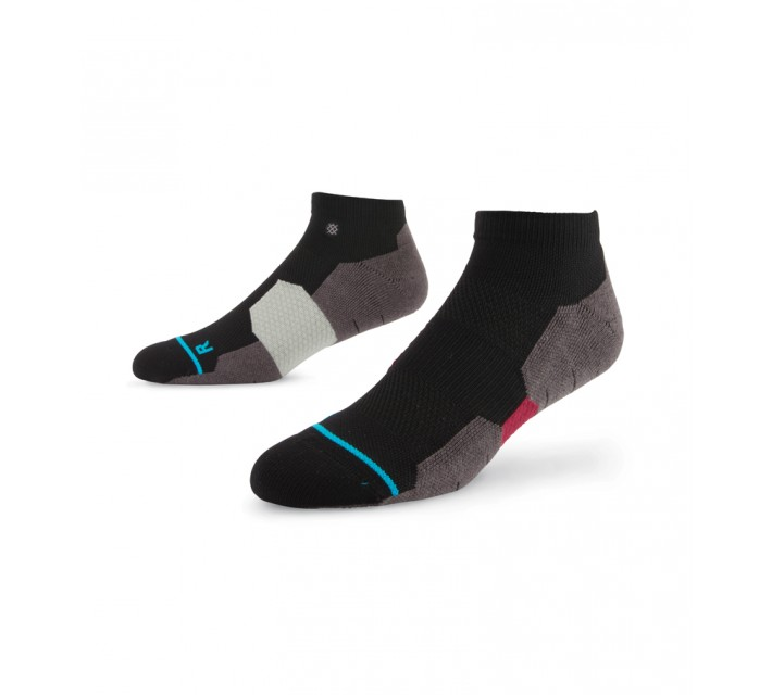 STANCE GOLF SOCKS FRONT NINE LOW RED - AW15
