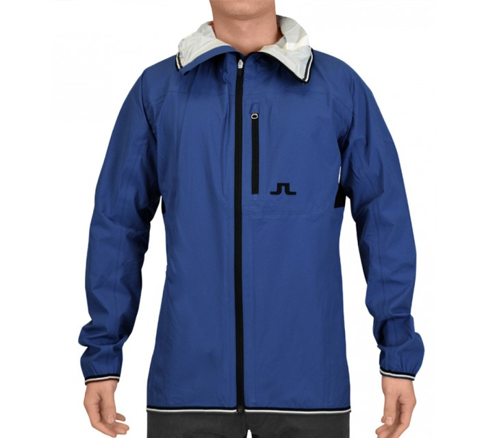 J. LINDEBERG FUTURE SPORTS JACKET 2.5 PLY BLUE - SS15
