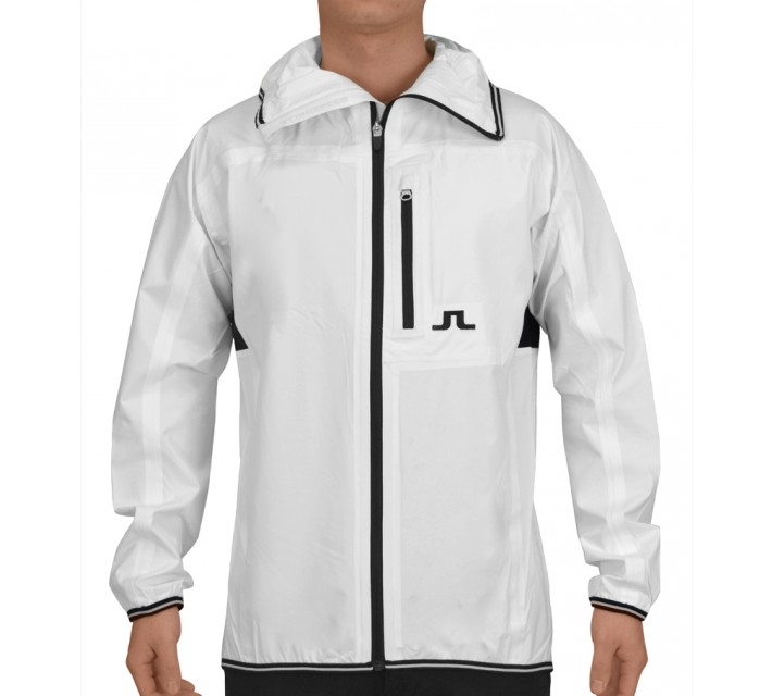 J. LINDEBERG FUTURE SPORTS JACKET 2.5 PLY WHITE - SS15
