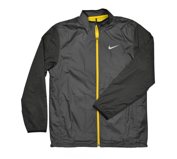 NIKE GOLF FULL-ZIP SHIELD JACKET DARK GREY - SS16 CLOSEOUT