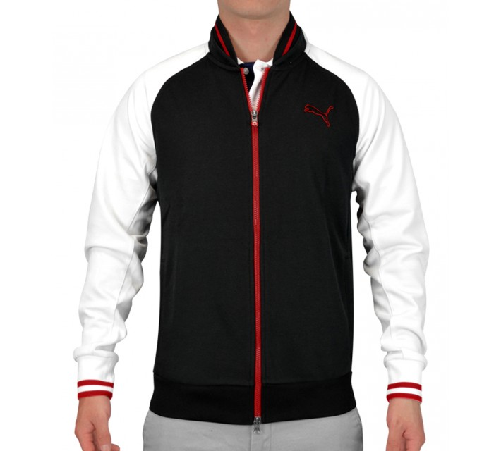 PUMA GOLF TRACK JACKET BLACK - SS15