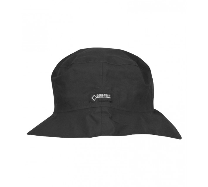 ZERO RESTRICTION GORE-TEX WATERPROOF BUCKET HAT BLACK - AW16