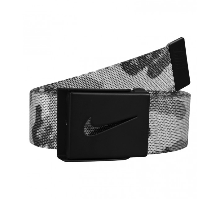 NIKE GOLF GRAPHIC REVERSIBLE WEB BELT BLACK CAMO - SS15 CLOSEOUT