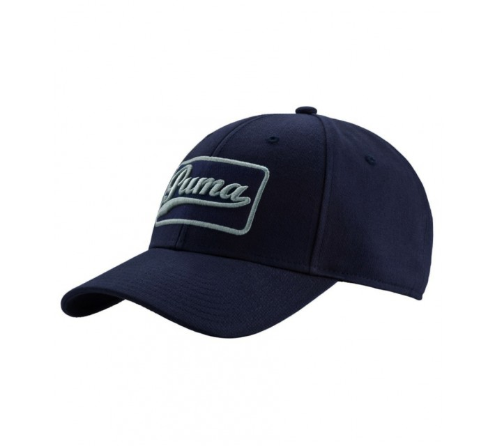 PUMA GREENSKEEPER CAP PEACOAT/QUARRY - AW16