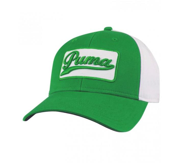 PUMA GREENSKEEPER ADJUSTABLE CAP BRIGHT GREEN - SS15