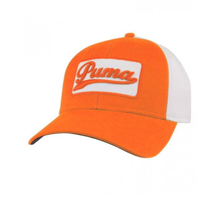 PUMA GREENSKEEPER ADJUSTABLE CAP VIBRANT ORANGE - AW15
