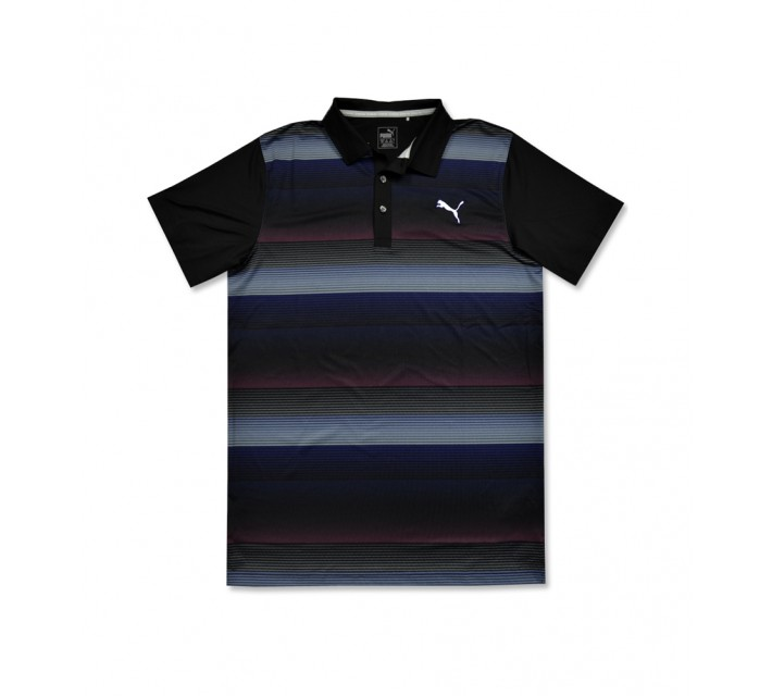 PUMA JUNIOR BOYS ROAD MAP POLO PUMA BLACK - AW16