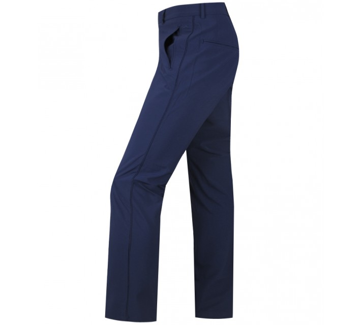 J. LINDEBERG GUSTEN MICRO STRETCH PANTS NAVY PURPLE - AW15