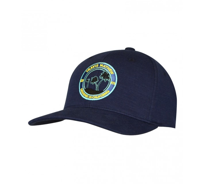 TRAVISMATHEW HACKS HAT VINTAGE INDIGO - AW15