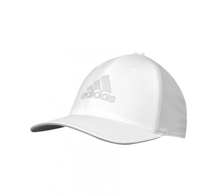 ADIDAS LIGHT WEIGHT CLIMACOOL FLEXFIT HAT WHITE/CLEAR GREY - AW16