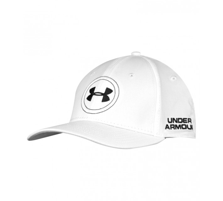 UNDER ARMOUR OFFICIAL TOUR CAP WHITE - SS16
