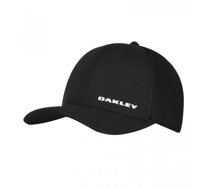 OAKLEY SILICONE BARK TRUCKER HAT 4.0 BLACK - AW16