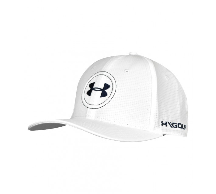UNDER ARMOUR JORDAN SPIETH AIRVENT TOUR CAP WHITE - AW16